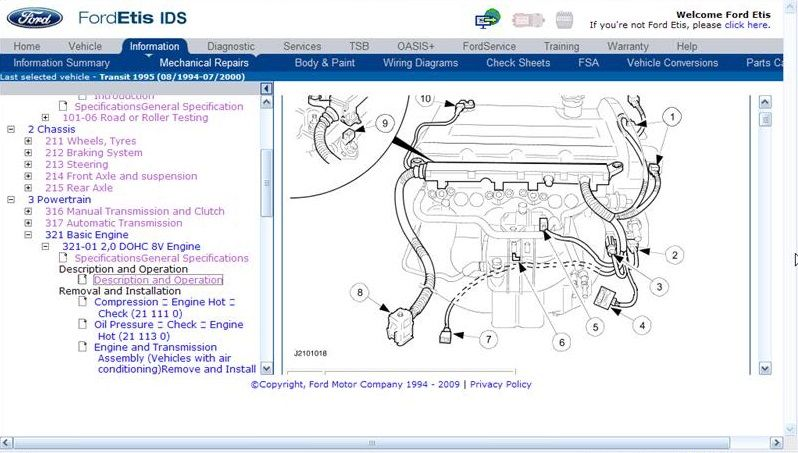 Ford TIS repair Manual Download