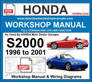 Honda s2000 workshop manual pdf