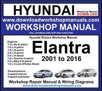 Hyundai Workshop Manuals