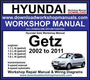 hyundai getz workshop manual download  workshop manuals