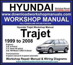 Hyundai Trajet Workshop Service Repair Manual