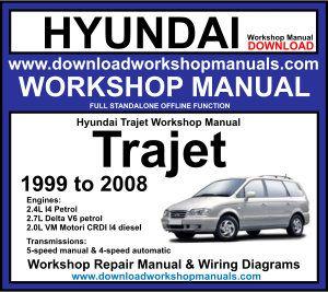Hyundai Trajet Workshop Manual Download