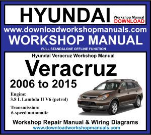 Hyundai Veracruz Workshop Service Repair Manual