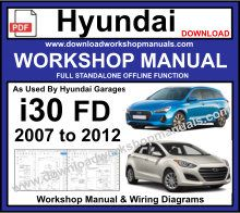 Hyundai i30 FD Workshop Service Repair Manual