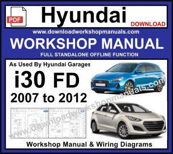 Groovy Hyundai I30 Fd Workshop Repair Manual Wiring 101 Vieworaxxcnl