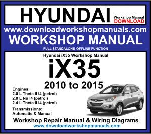 Hyundai ix35 Workshop Service Repair Manual