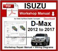 isuzu workshop manuals download workshop manualsisuzu d max service repair  workshop manual download