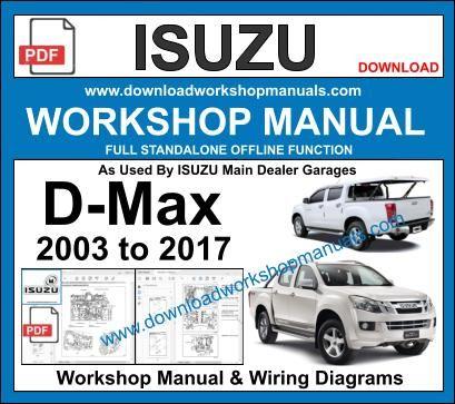 isuzu d max workshop manual pdf  wiring diagram circuit