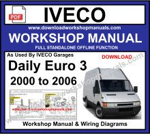 Iveco Euro 3 Workshop service Repair Manual