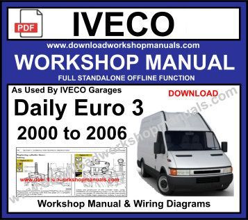 Iveco Euro 3 Service Repair Workshop Manual