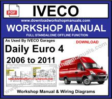 Iveco Repair Workshop service Repair Manual