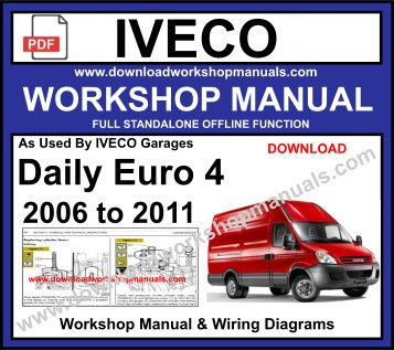 Groovy Iveco Daily Diagram Repair Manuals Wiring Diagrams Basic Wiring Digital Resources Remcakbiperorg