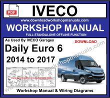 iveco euro 6 workshop service repair manual