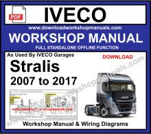Iveco Stralis Workshop service Repair Manual
