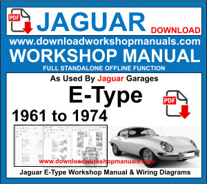 Jaguar E Type Workshop Service Repair Manual pdf