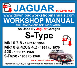JAGUAR S-TYPE MK10 420 420G service repair workshop manual