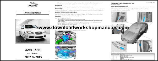 Jaguar Xf Xfr Service Repair Workshop Manual