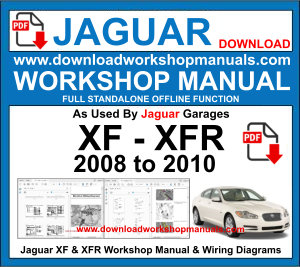 Jaguar XF XFR Workshop Service Repair Manual pdf