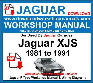 JAGUAR XJS workshop service repair manual