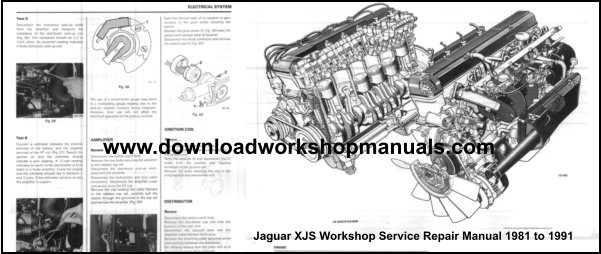 Jaguar XJS Repair Manual