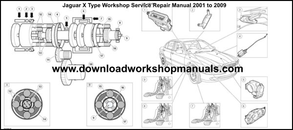 Jaguar X Type Repair Manual
