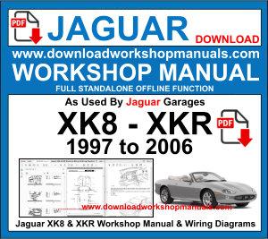 Jaguar Xk8 Xkr X100 Service Repair Workshop Manual
