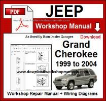 Jeep WJ Workshop Manual Download