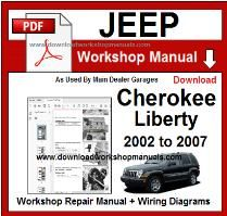 Cherokee Liberty Workshop Manual Download