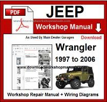 Jeep Wrangler Workshop Manual Download