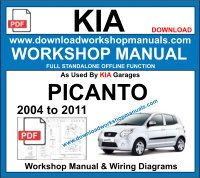 Kia Picanto Repair Service Workshop Manual Download