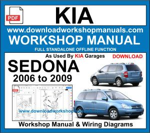Kia Sedona repair workshop manual