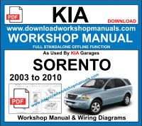 Kia Soento Workshop Service Repair Manual Download