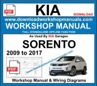 Kia Sorento Service Repair Workshop Manual Download