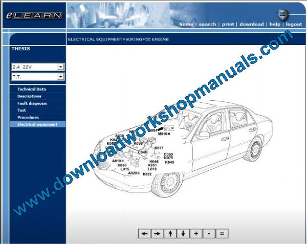 Lancia Thesis Wiring Diagrams