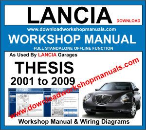 Lancia Thesis workshop manual download