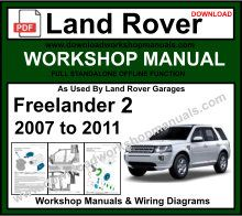Land Rover Freelander 2 Workshop Service Repair Manual
