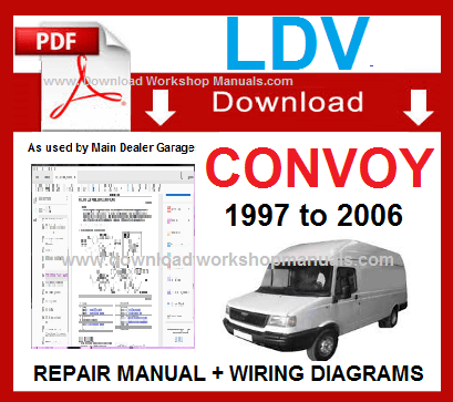 LDV Convoy Workshop Service Repair Manual