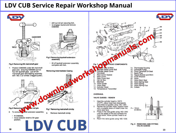 Ldv Cub Workshop Manual Download