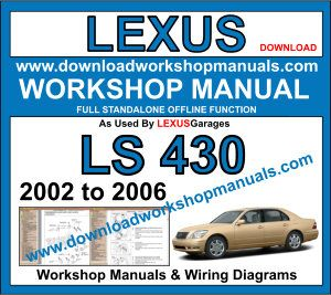 Lexus LS 430 workshop repair manual download