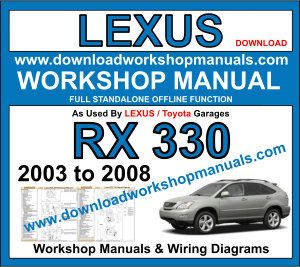 Lexus RX 330 workshop repair manual