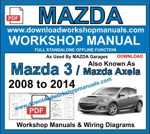 Mazda 3 Workshop Repair Manual Download