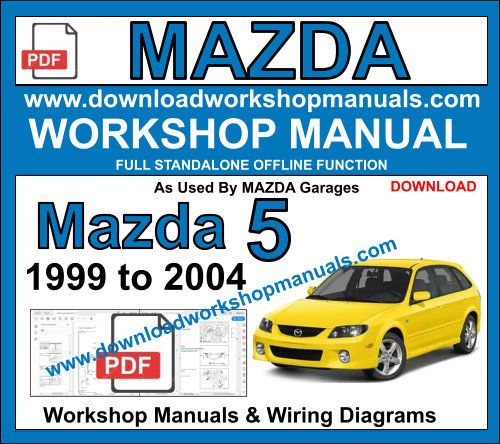 Mazda 5 Service repair workshop manual