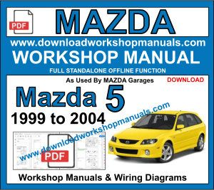 Mazda Workshop Manuals