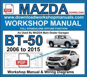 mazda bt50 workshop service repair manual pdf
