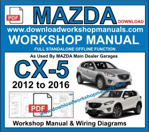 Mazda CX5 Workshop Manual Download pdf