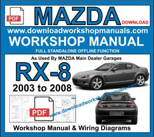 Mazda RX8 Workshop Repair Manual Download pdf