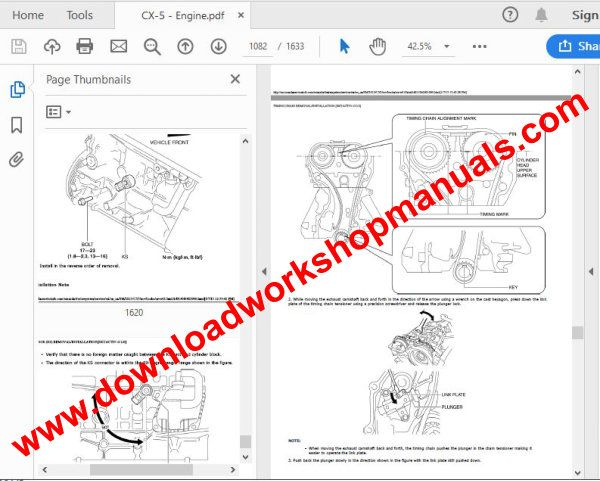Mazda cx5 workshop manual