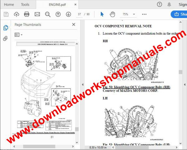 Mazda c-x9 workshop manual.download