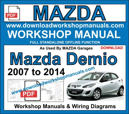 Mazda Demio Workshop Manual Download pdf
