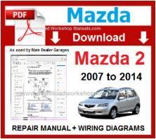 mazda 2 workshop service repair manual pdf
